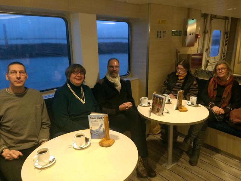 auf dem Weg nach Norderney